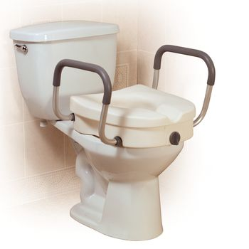 Pleasant 2 In 1 Locking Elevated Toilet Seat Item 559250 Cjindustries Chair Design For Home Cjindustriesco