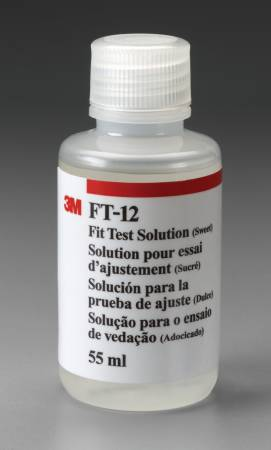 3M Fit Test Solution, Sweet, Accessory for 3M Qualitative Fit Test Apparatus FT-10, Each