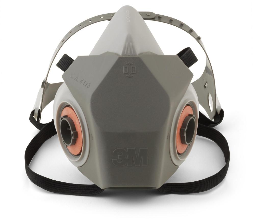 3m 6000 half mask respirator