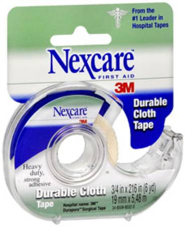 3M Nexcare Tape, Cloth 3/4 Inch X 6 Yards, Each - Model 5113166993