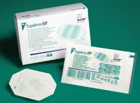 3M Tegaderm HP Transparent Dressing, Film 2-3/8 X 2-3/4 Inch, Each - Model 9534HP