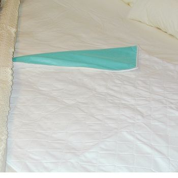 4-Ply Quilted Reusable Bed Under Pad w/out straps - Item #565998