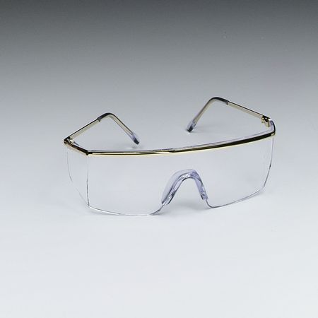 Rimless Glasses Plugs : Aearo Malibu Safety Glasses, Gold W/Clear Lens - Model ...