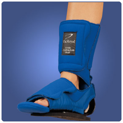 Ankle Contracture Boot Without Sole, Size: X-Large, Calf Circumference: 16