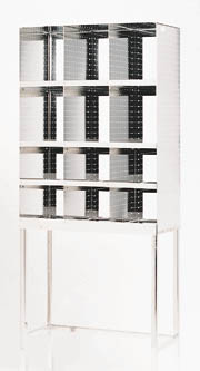 Bandy Stainless Steel Storage Rack, Model DISP60001, Each