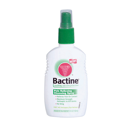 bayer bactine liquid spray bottle 5 oz each. Black Bedroom Furniture Sets. Home Design Ideas