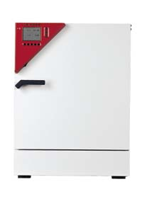 Binder Air-Jacketed CO2 Incubators, CB Series - Models with O2 Control and Divided Door