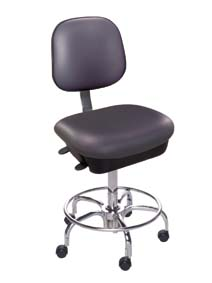 BioFit Cleanroom Chair, Model EET238CRC104, Each