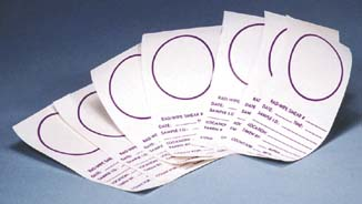 Biodex Medical Systems Wipe Test Smears, Model 006-350, Pack of 500