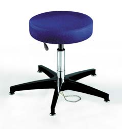 BioFit ESD Stools, 1M Series - Stools with Footring, Model RXC238AFKMBU, Each