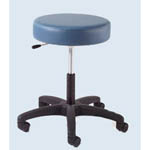 Econobuoys Revolving Stool, Saddle Tan - Model 13421-STN, Each