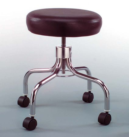 Revolving Stool, Black - Model 1111-BLK, Each