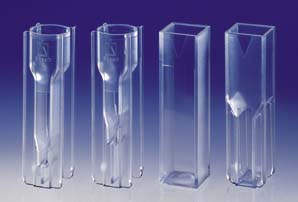 Brandtech BRAND UV-Cuvette Disposable Spectrophotometer/Photometer Cuvettes - Ultra-Micro Cuvettes