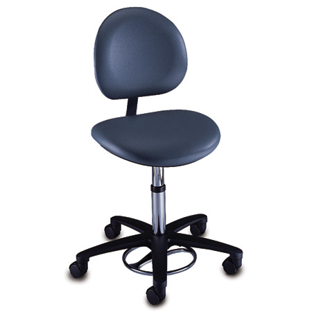 Brewer Company Foot Operated Surgeon's Stool - Model 21340B, Each