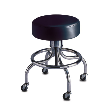 Brewer Company Tradition Series Exam Stool, Blue - Model 23051-US354, Each