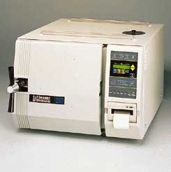 Brinkmann Tabletop Autoclaves - Digital Control and Display with Printer, Model 23210215, Each