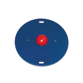 Cando Mvp Wobble Board - 30 Inch Board - 1 Red Hemisphere - Easy