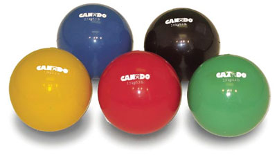 Cando Plyometric Weighted Balls 4.4 lbs. (2kg) Green - Model 551581