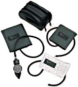 Classic Style Hand Aneroid Family Practice Blood Pressure Kit w/ Durable One-Piece Child Adult and L