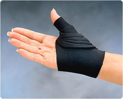 Thumb cmc splint comfort cool restriction