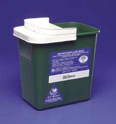 Covidien Sharps Disposal Containers for Non-Biohazardous Waste, Model 8781, Case of 10