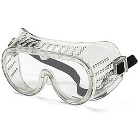 Crews Safety Goggles - Perforated Goggle, Small - Model 2120, Each
