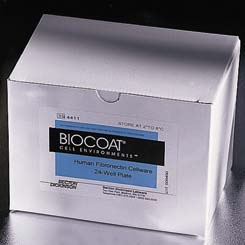 Culture Flasks, T-25 (25 cm2) - BD BD BioCoat Cellware, Fibronectin, Model 354532, Case of 10