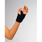 DeRoyal Industries Wrap Wrist, Universal, Black - Model NE7740-70-BLACK, Each