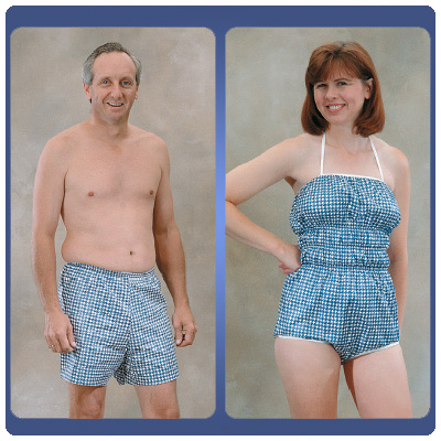 Dipsters Hydrotherapy Wear Dipsters for Women. Size: Small (6-8 ...