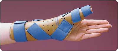 Freedom Thumb Spica Splints, Right Size: S/M - Model A7376