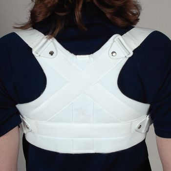 Front Closure Clavicle Support Size: XLarge, Chest Circ: 42