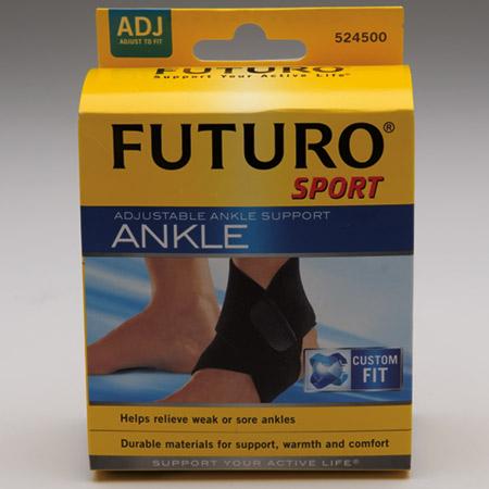 d39d6f4cea FUTURO Sport Adjustable Ankle Support, Unisize - Model 524500, Each