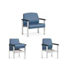 Global Industries Midwest Bariatric Waiting Chair - Model H717-1MB-40, Each