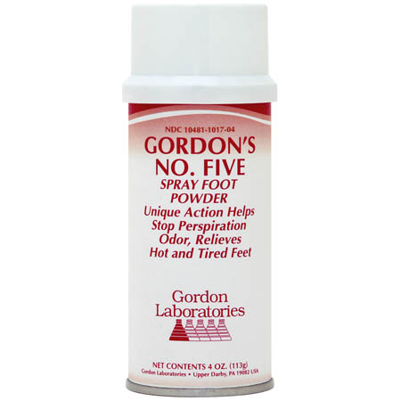 Gordon Laboratories Gordon's No  5 Foot Powder, 4 oz , Each
