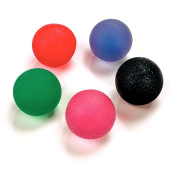 Hand Therapy Balls Firm, Orange - Model 927623
