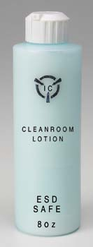 I.C. Cleanroom Lotion, Bottle with Pump - R & R Lotion I.C. Lotion Static-Dissipative Hand Lotions