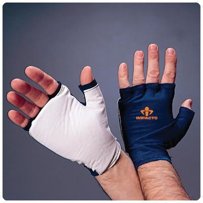 IMPACTO 704-20 Glove with Wrist Support Fingerless Gloves. Size: X-Large - Model A3829