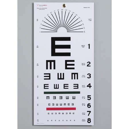 Illiterate Eye Chart Each