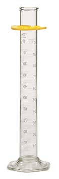 Kimble Chase KIMAX Reverse Scale Graduated Cylinders, Class A, To Deliver - White Scale