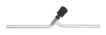Kimble Chase KONTES HI-VAC Low Holdup Valves, Straight, with PTFE Plug and Extended Tip