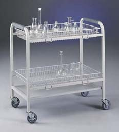 Labconco Glassware Carts - Cart with 2 Baskets, Model 8032500, Each