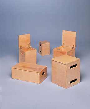 Lifting/Weight Box4-Piece Set 2-14X14X17 1-8X8X12 1-10X10X14