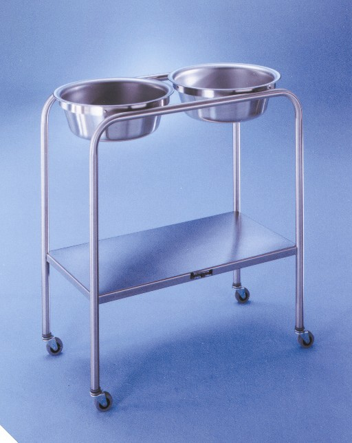 Double Basin Solution Stand - 2 Basin, H-Brace, Snyder, 8.5 qt us, Each - Model 727808100