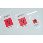 Specimen Transport Biohazard Bags, 8 x 10 - Model DYND30271, Case of 1000