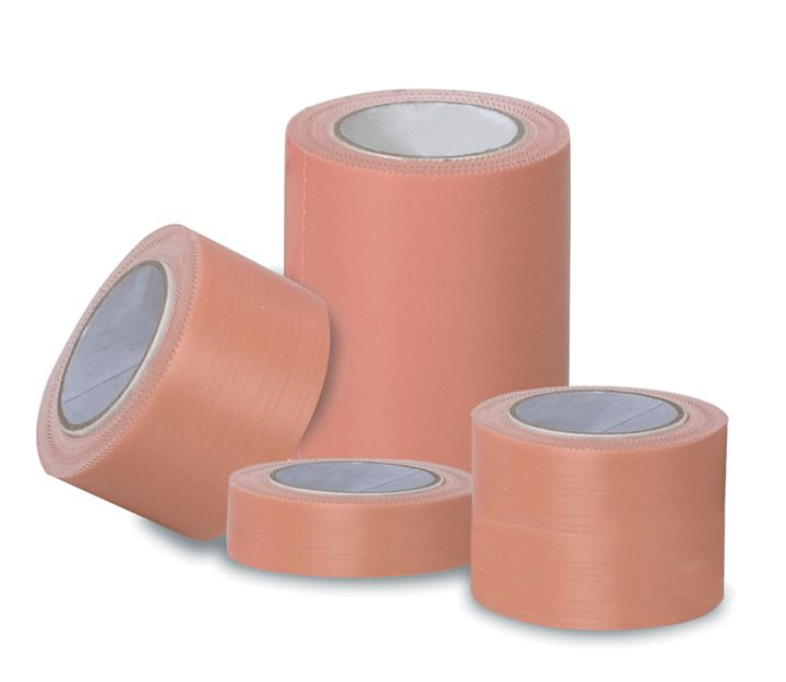 Omega Medical Megazinc Pink Adhesive Tape - 1/2