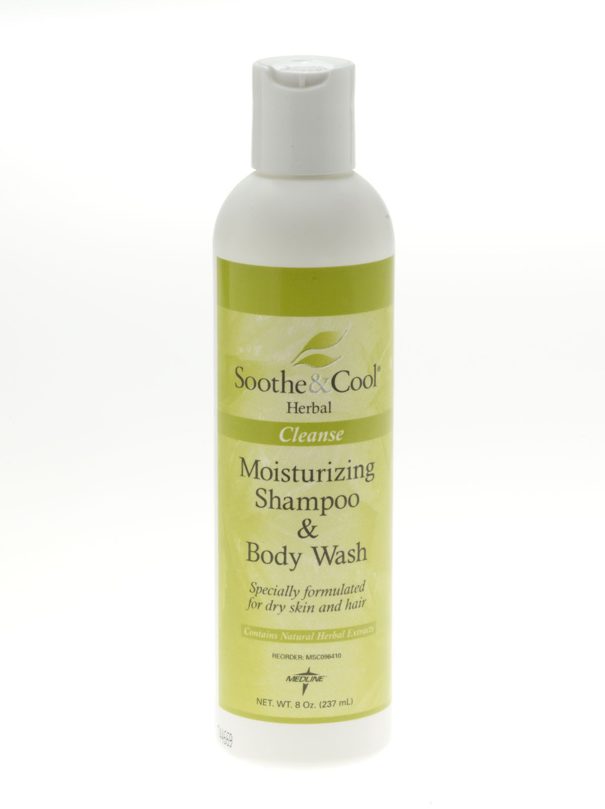 Soothe & Cool Herbal Shampoo & Body Wash - Shampoo-Body Wsh, Soothe&Cool Herbal, 8Oz, Box of 12