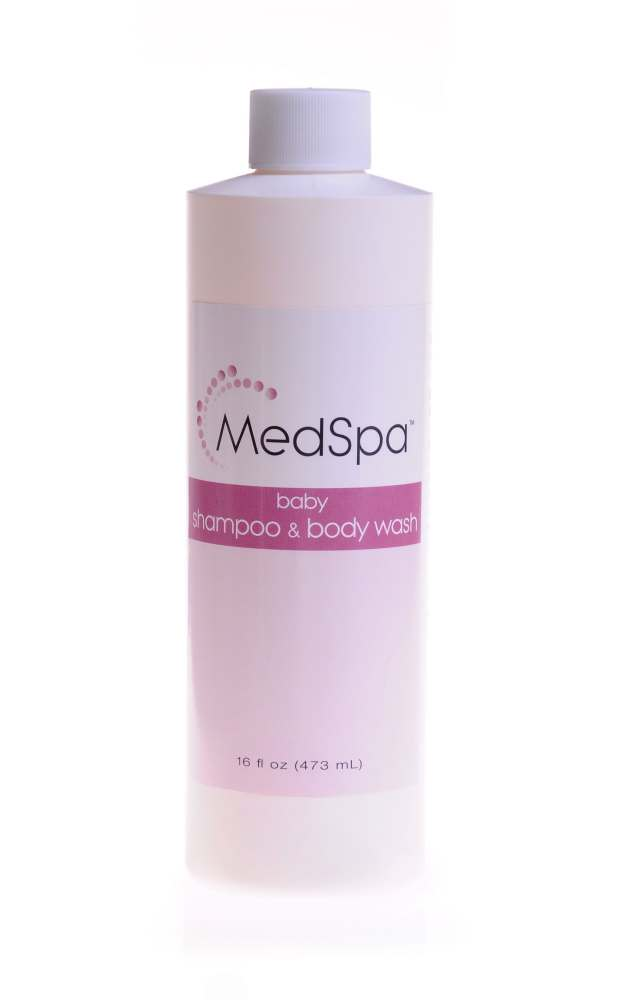 Medline MedSpa Shampoo - Baby/Adult, 16 0Z, 472 ml, Box of 12 - Model MSC095024