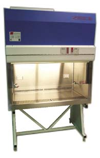 Microzone BioKlone 2 Series, Class II, Type A2 Biological Safety Cabinets - Console, Exhausted