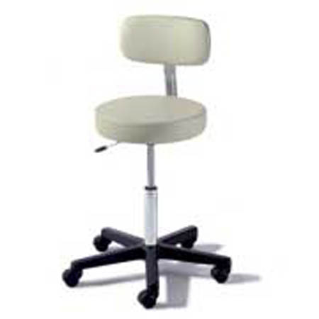 Midmark Ritter 273 Air Lift Stool With Back Model 273