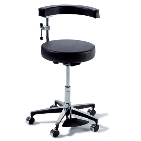 Midmark Ritter Model 279 Surgeon Stool - Hand Operated - Model 279-001, Each